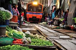 RAILWAY MARKET AND FLOATING MARKET HALF DAY